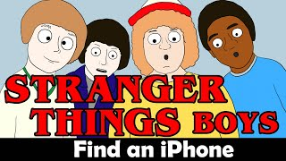 Stranger Things Boys Episode 01 - The iPhone Parody