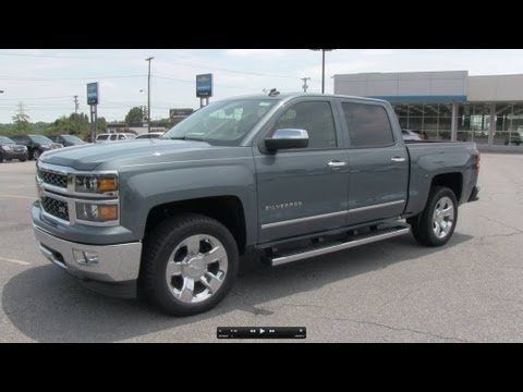 2014 Chevrolet Silverado LTZ Crew Cab Start Up. Exhaust. and In Depth Review