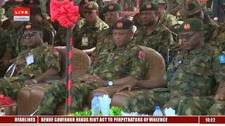 Nigerian Army In Show Of Capacity With Firepower Demonstration Pt.1 |Live Event|