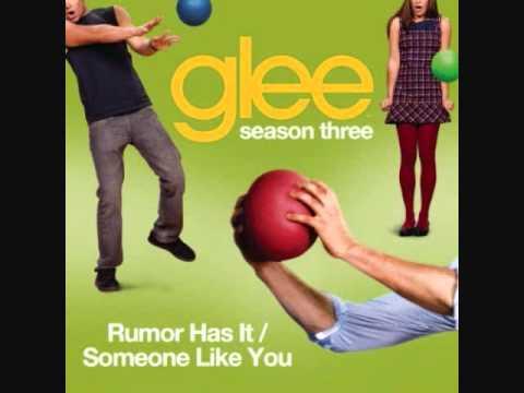 """Песни из кино и мультфильмов - Rumor Has It (""""Glee Cast"""")"""