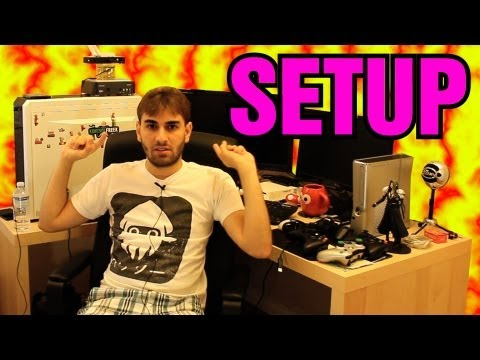 Meu Setup: PC, Placas de Captura, Consoles, Kontrol Freek!