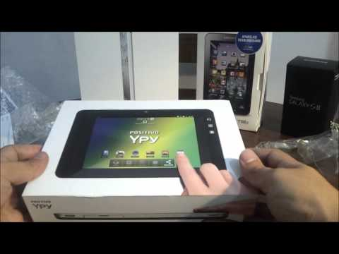 Unboxing Positivo YPY 7 Polegadas
