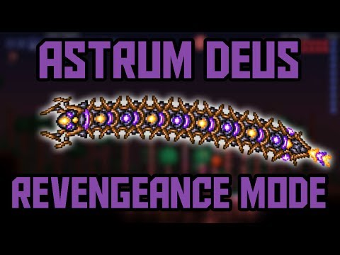 How to Beat Astrum Deus in Revengeance Mode! Calamity Mod Boss Guide!