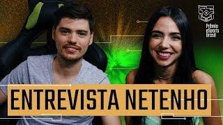 NETENHO MOSTRA GAMEPLAY E FALA DE COMEÇO DA CARREIRA