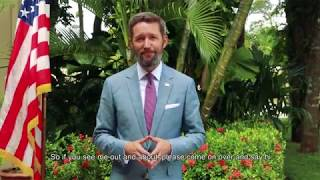 A Message from Keith Gilges, Chargé d'Affaires, a.i.