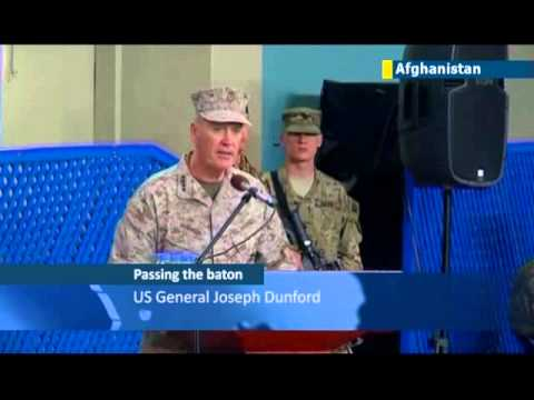 Dunford replaces Allen in Afghanistan: departing commander offers defiant victory cry