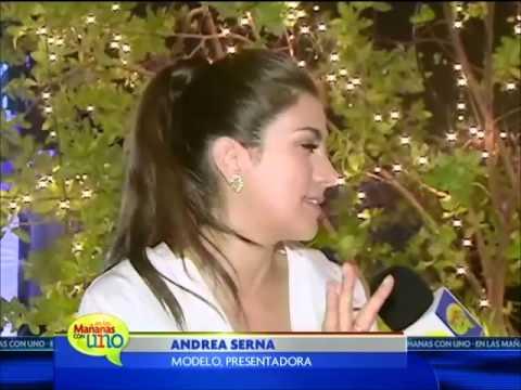 Andrea Serna nos habló de su faceta como mamá