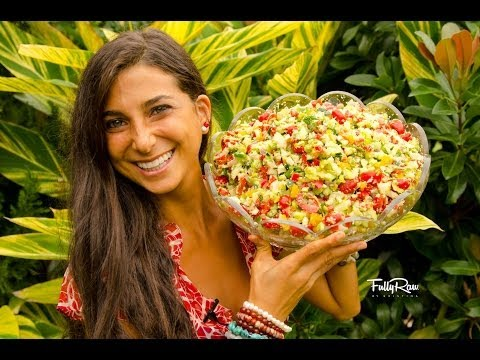 The FullyRaw Holiday Salad!