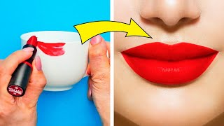 40 AMAZING BEAUTY HACKS TO SAVE YOUR TIME, MONEY AND HASSLE