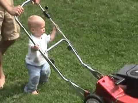 Lawn Mower Boy