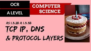 OCR A'Level TCP IP, DNS & Protocol layers
