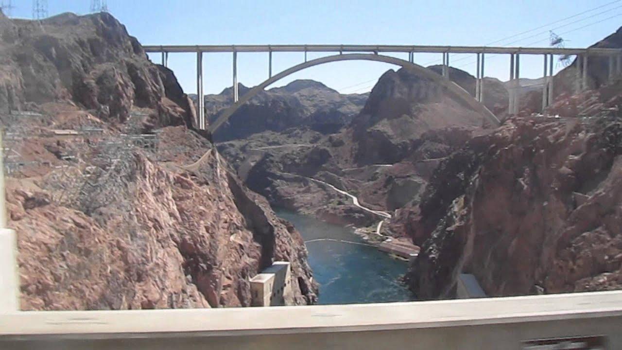 Hoover Dam Nevada Arizona Border USA YouTube