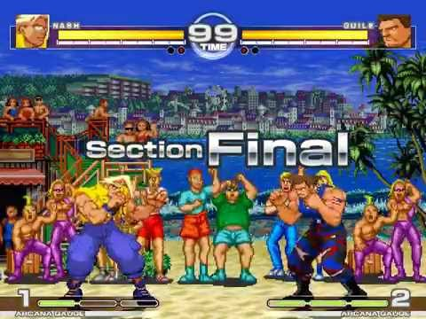 MUGEN : No Volleyball Here Nash vs Guile