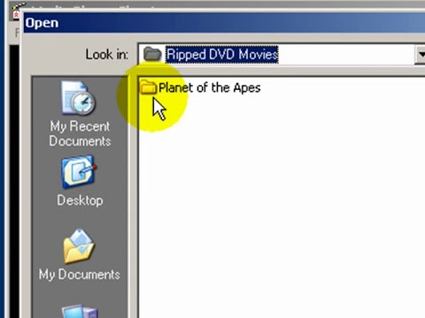 Using Media Player Classic To Playback Ripped DVDs From Your Hard drive