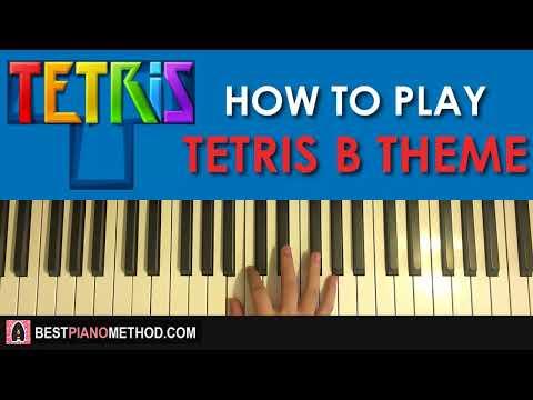 HOW TO PLAY - Tetris - Theme 'B' (Piano Tutorial Lesson)