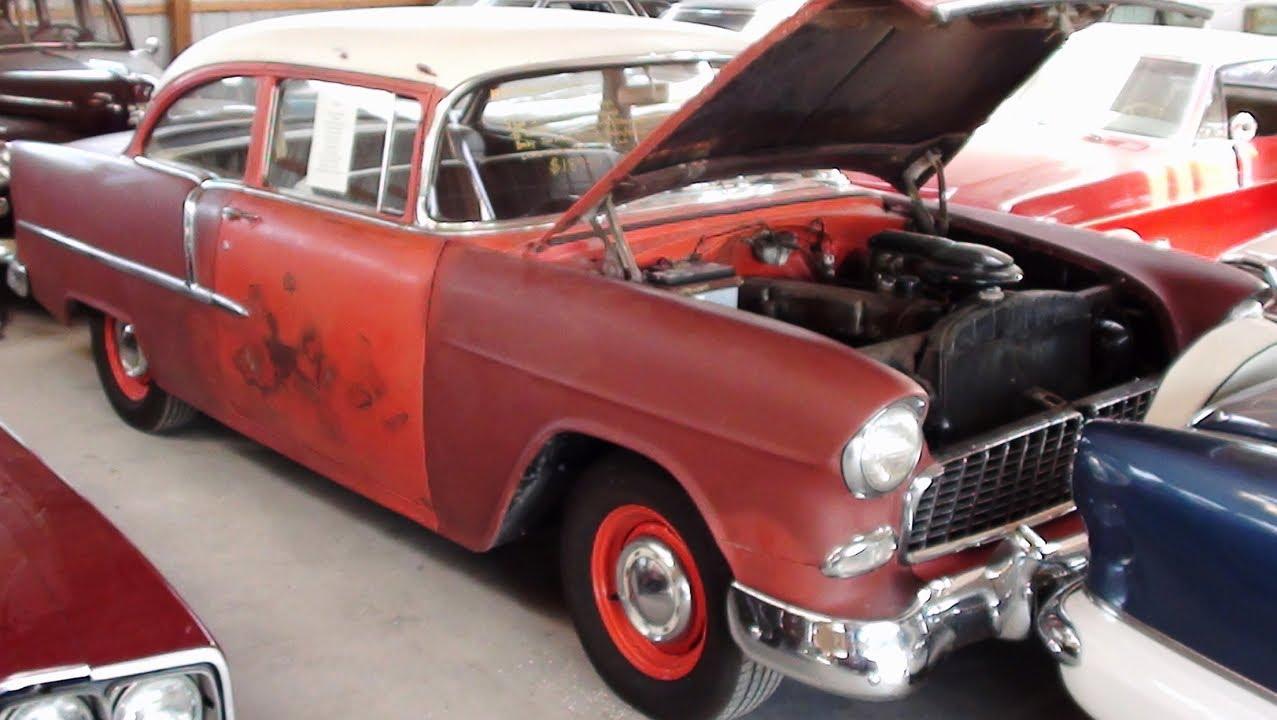 1955 chevrolet two door sedan stored for over 40 years for 1955 chevy 2 door sedan