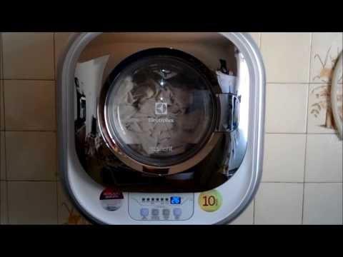 Lavadora Electrolux Mini Silent 3 kg (LFE03) - Lavando Cortinas