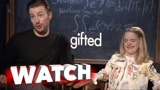 Gifted: Exclusive Movie Interview with Chris Evan and Mckenna Grace