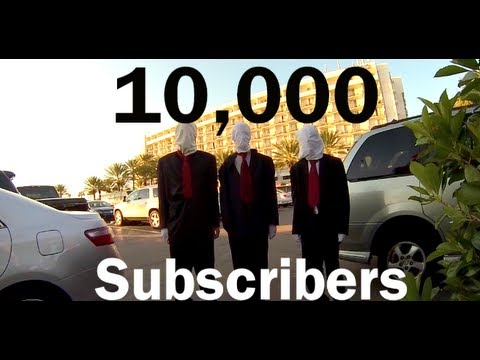 10,000 Subscriber 20 Min Prank Compilation 2013 (Slender Man Falling Grandma & More)