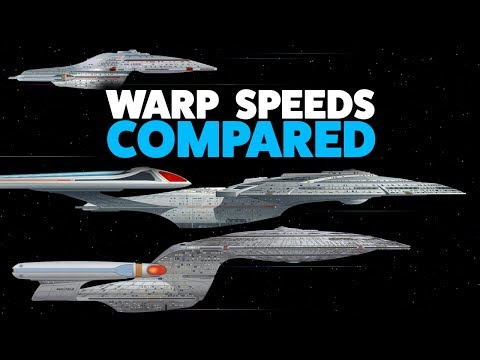 Warp Speed Comparison