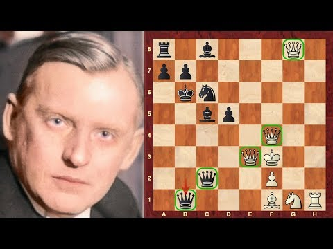 Chess Strategy : The Evolution of Chess Style #74 - Alekhine's 5 Queen Game - French Defense