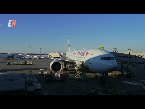 Air Canada  International Business Class Review. Boeing 777-200. Airbus A330-300
