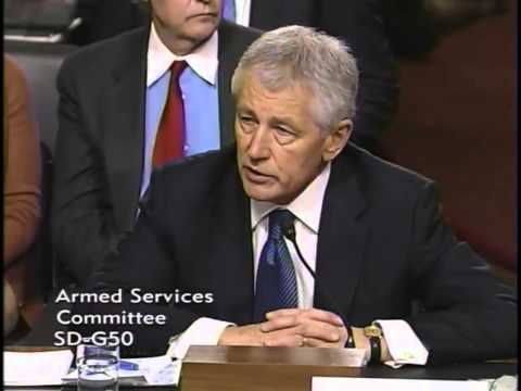 Graham Questions Hagel at Senate Confirmation Hearing