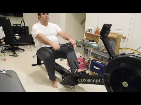 Concept 2 Rower Unboxing