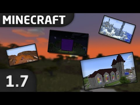 Minecraft 1.7 The Update that Changed the World Was ist neu