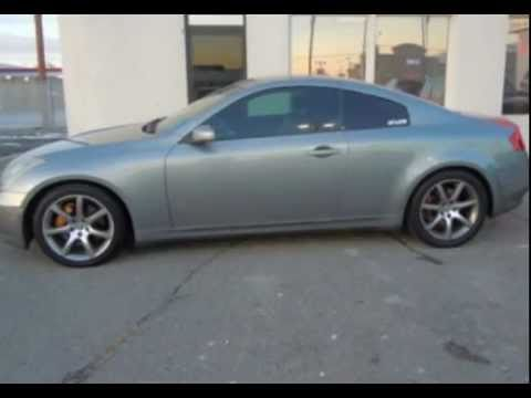 Japanese Auto Sales SLC UT: 2004 Infiniti G35 Sports Coupe 877-203-0371