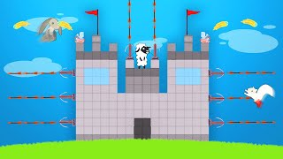 BEST TOWER DEFENCE MINIGAME! (Ultimate Chicken Horse)