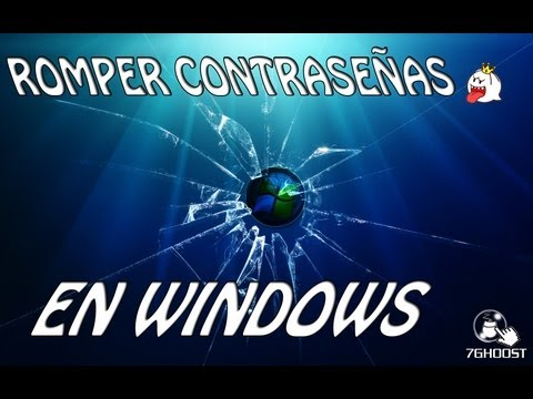 Romper contraseñas de usuario en Windows 8/7/Vista/XP con Hiren's Boot 2014