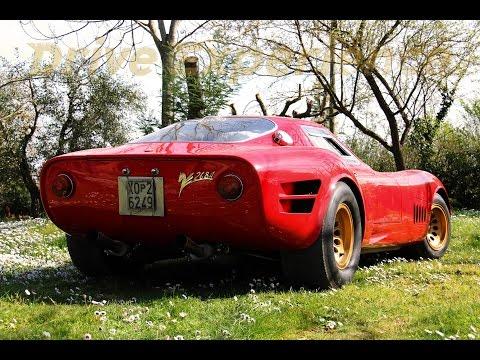V8 Montreal (carburatori) sulla Marciano 268a - Inserito da Davide Cironi il 18 febbraio 2016 durata 2 minuti e 18 secondi - Motore Alfa Romeo 2.6 cc otto cilindri convertito a carburatori ed elaborato per l�impiego su questa opera d�arte fatta a mano.