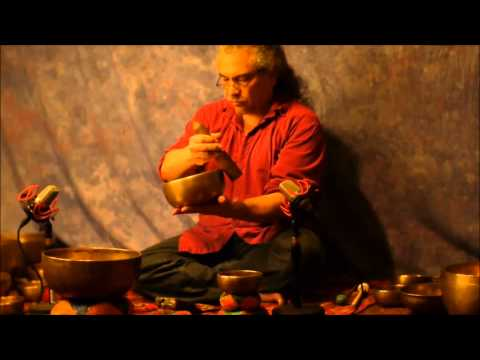 70 minute~7 Chakra Continuous Meditation with 21 Antique Tibetan Singing Bowls