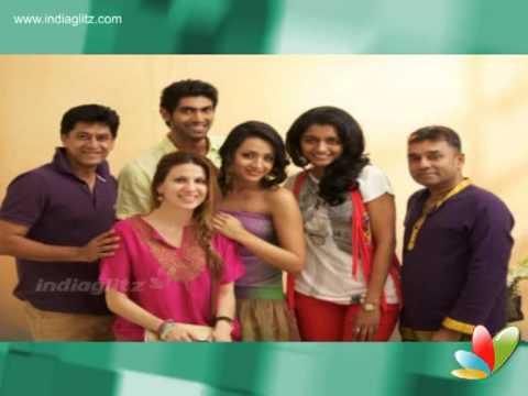 Trisha In Love With Rana Daggubati? Marriage Next Year? video