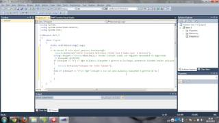 C# Console Ders-3 Part-1(if-else)