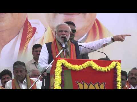 Shri Narendra Modi addressing