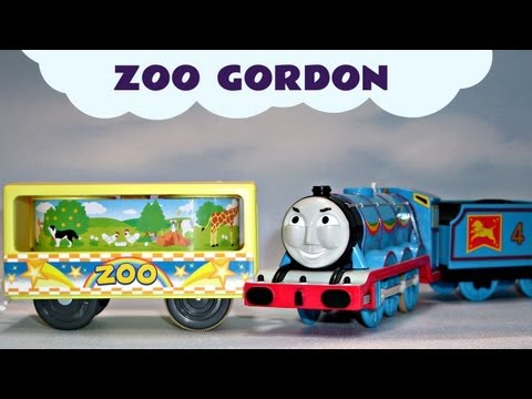 Thomas The Tank Engine Tomy Plarail Gordon & The Zoo Cars