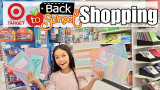 BACK TO SCHOOL SHOPPING AT TARGET!!!