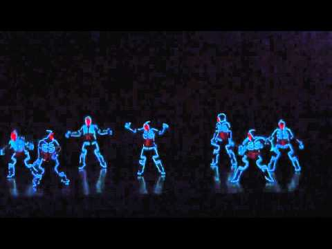 Japan tron dance