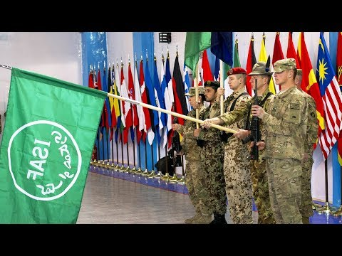 ISAF ends and Resolute Support Mission begins in Afghanistan
