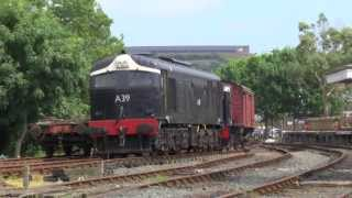 Steam & Diesel at Downpatrick - 20th July 2013