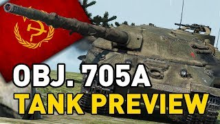 World of Tanks || Object 705A - Tank Preview