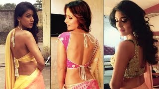 HOT Television Actresses Flaunt SEXY BACKLESS CHOLIS | MUST WATCH