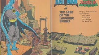 "Batman & Robin (The case of the Laughing Sphinx) ""Read Along"""