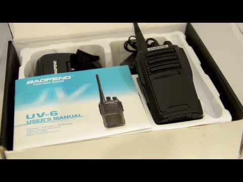 Baofeng UV-6 VHF/UHF Dual Band Radio vs BF888S UHF Review