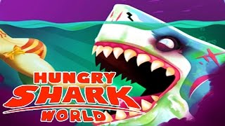 NEW ZOMBIE MEGALODON SHARK! Hungry Shark World Biggest Shark Update! EPIC NEW SHARK ABILITY!