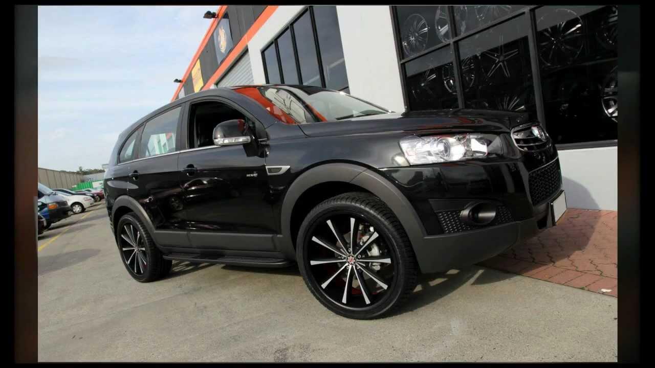 2012 Holden Captiva Rolling 22 Inch Scarlett Sw2 Custom Wheels Youtube