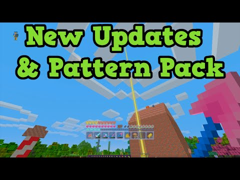Minecraft Xbox 360 + PS3 + PS4 Update TU23 Out Now Pattern Texture Pack