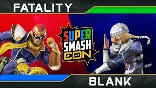 Super Smash Con 2018: Fatality vs Blank | Top 64